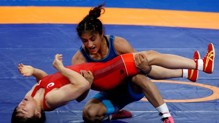 Vinesh Phogat's remarkable comeback: wins the title of Ukraine Wrestling tournament, defeating the former world champion with 4 points in the last 35 seconds