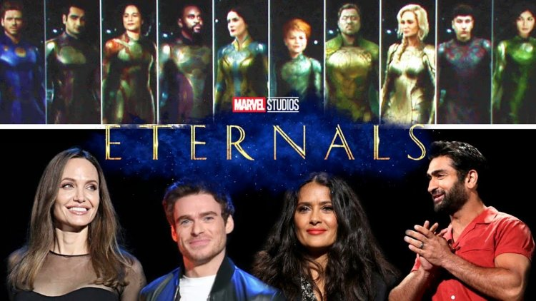 First look release of Marvel Studios 'Eternals', strong glimpse of Angelina Jolie