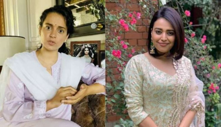 Kangana Ranaut's problems increased, Bollywood's famous designers banned from their projects, Swara Bhaskar said - Nice…