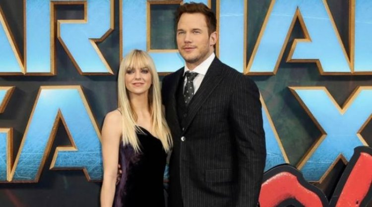 Anna Faris says she and ex Chris Pratt kept their marital woes under wraps