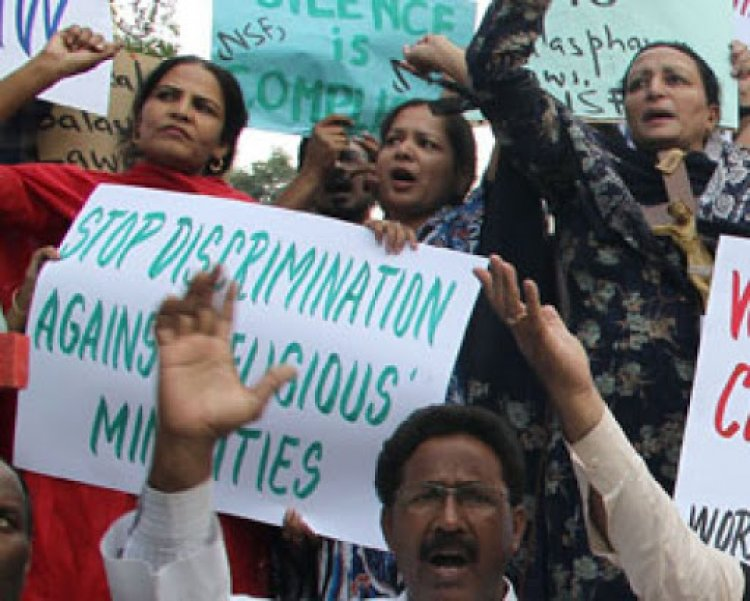In Pakistan, a bill demanding the minority to be called non-Muslim was presented.
