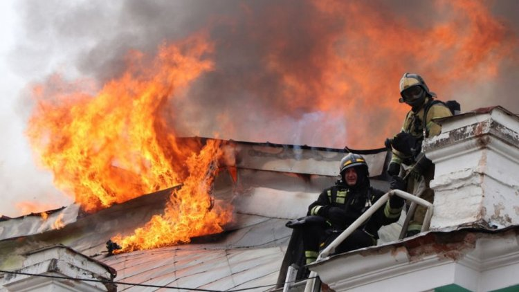 Fire in Covid ward in Russian hospital due to defective ventilator, painful death of three patients
