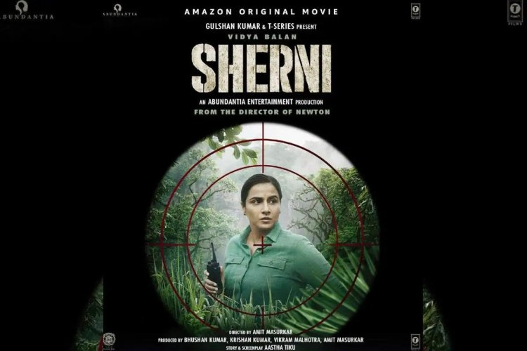 Vidya Balan met real forest officers for Sherni, this kind of preparation