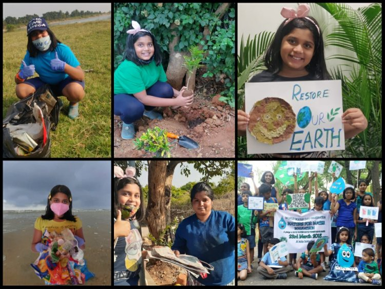 The 10 yr old Eco Warrior in India is battling waste management through her Eco friendly Vegetable paper