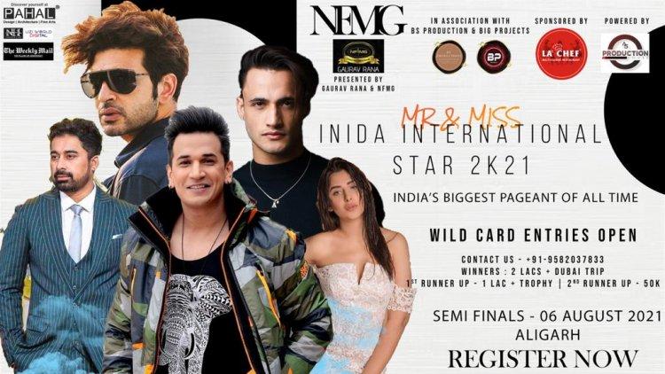 Mr & Miss India International Star 2021 Semi Final announcement in Aligarh