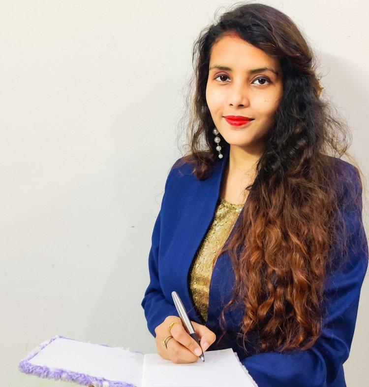 Richa Kumari - A lexophile with her first book ' Those Fallen Breadcrumbs'