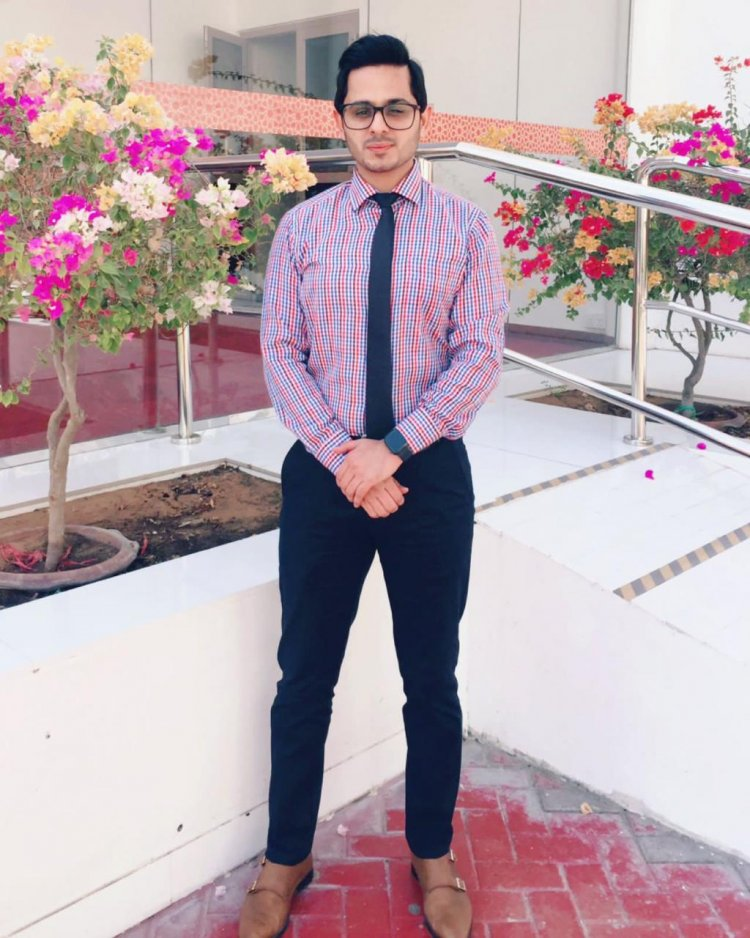 Mirza Muhammad Shakeel a Known Host on Tik Tok Aspires to Host Big events like IPL Some Day .